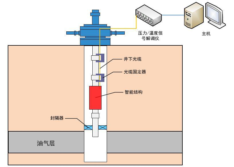 b-002:油气井下温度与压力一体化监测系统